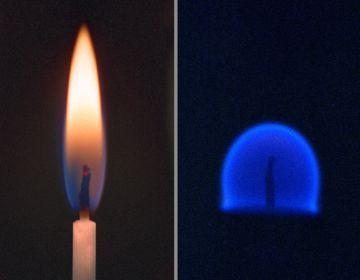 Будет ли в невесомости гореть свеча?