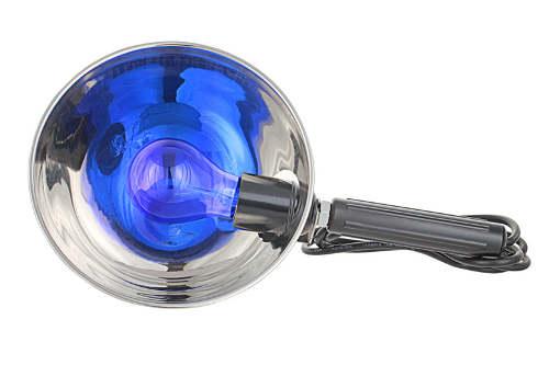 синяя лампа, рефлектор Минина